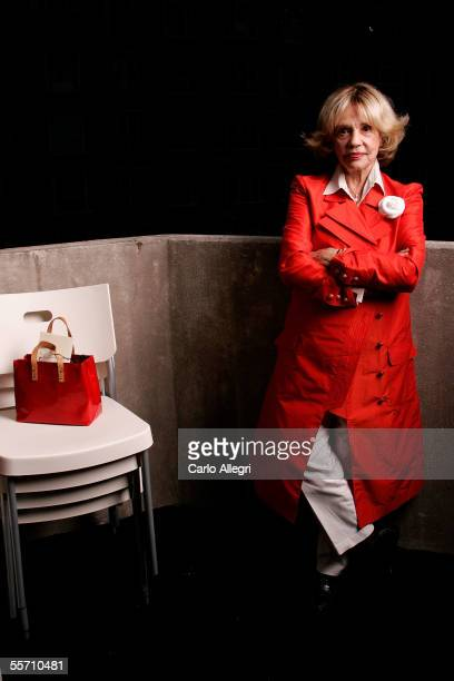 Actress Jeanne Moreau poses for a portrait at the Toronto International Film Festival September 16 2005 in Toronto Canada