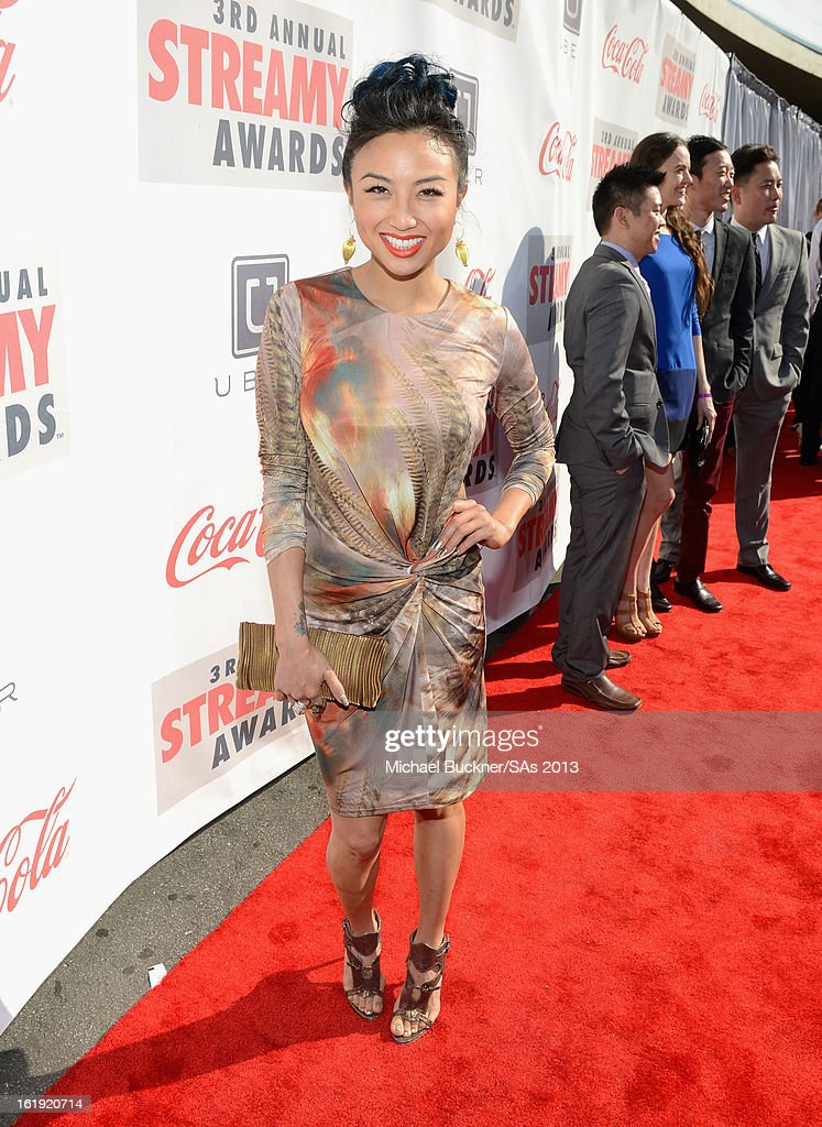 Actress Jeannie Mai attends the 3rd Annual Streamy Awards at Hollywood Palladium on February 17, 2013 in Hollywood, California.