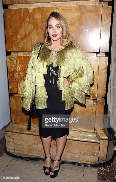 Actress Jemima Kirke attends 2016 Free Arts NYC Art Auction Benefit on April 27 2016 in New York City
