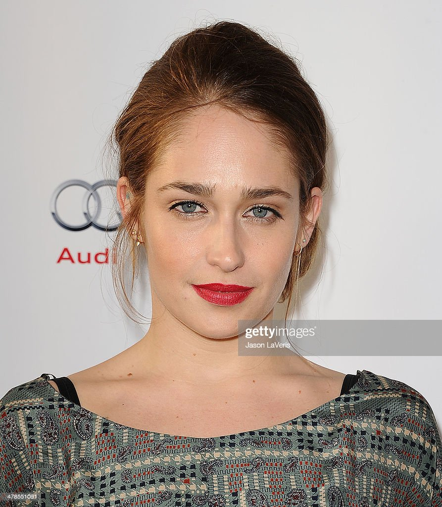 Actress <a gi-track='captionPersonalityLinkClicked' href=/galleries/search?phrase=Jemima+Kirke&family=editorial&specificpeople=7327464 ng-click='$event.stopPropagation()'>Jemima Kirke</a> attends an evening with 'Girls' at Leonard H. Goldenson Theatre on March 13, 2014 in North Hollywood, California.