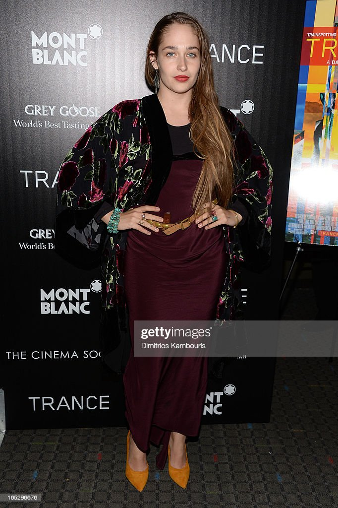 Actress Jemima Kirke attends Fox Searchlight Pictures' premiere of 'Trance' hosted by the Cinema Society & Montblanc at SVA Theater on April 2, 2013 in New York City.