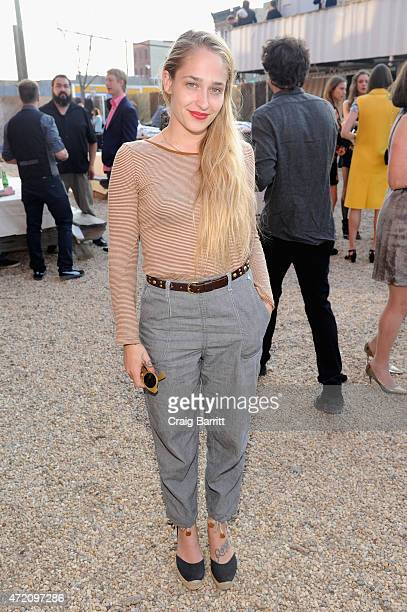 Actress Jemima Kirke attends Pioneer Works 2nd Annual Village Fete presented by BOMBAY SAPPHIRE GIN at Pioneer Works Center for Art Innovation on May...