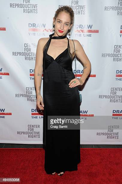 Actress Jemima Kirke attends The Center For Reproductive Rights 2015 Gala at The Museum of Modern Art on October 27 2015 in New York City