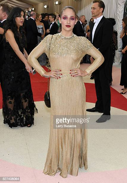 Actress Jemima Kirke attends the 'Manus x Machina Fashion In An Age Of Technology' Costume Institute Gala at Metropolitan Museum of Art on May 2 2016...