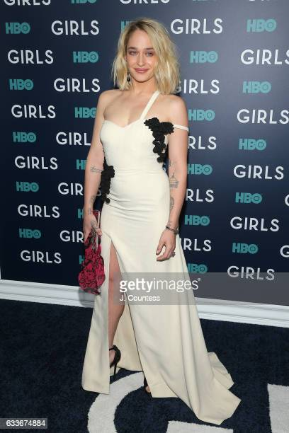 Actress Jemima Kirke attends The New York Premiere Of The Sixth Final Season Of 'Girls' at Alice Tully Hall Lincoln Center on February 2 2017 in New...