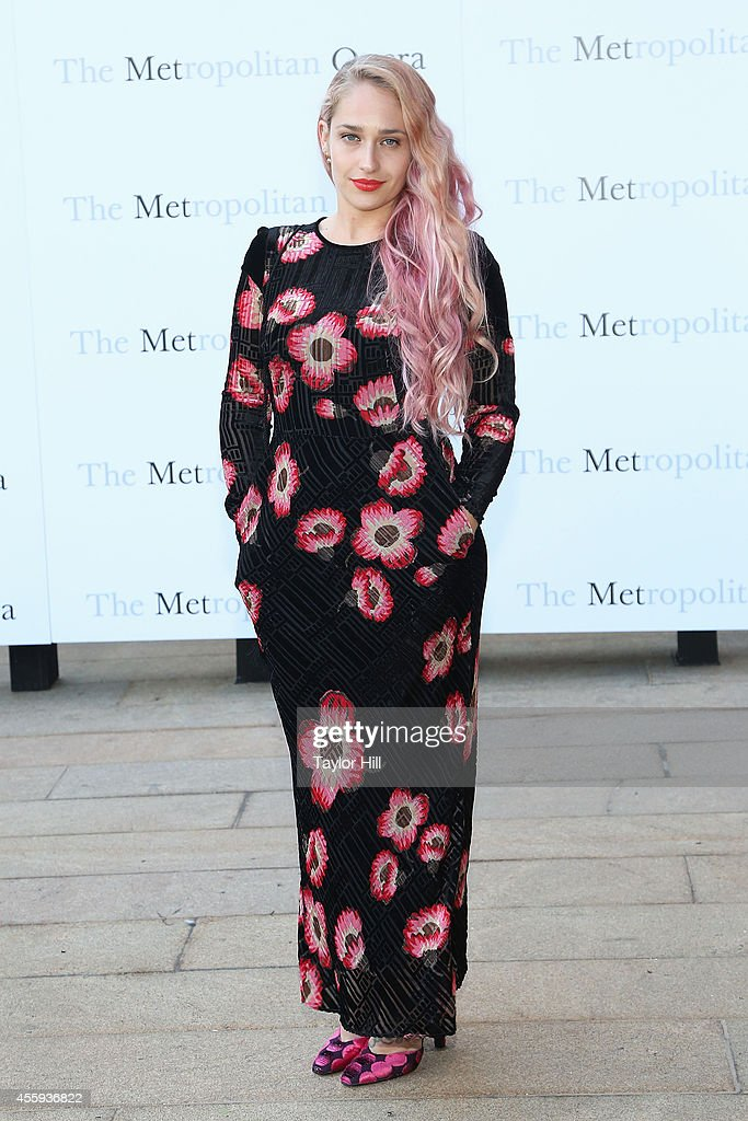 Actress Jemima Kirke attends the season opening of 'The Marriage of Figaro' at The Metropolitan Opera House on September 22, 2014 in New York City.
