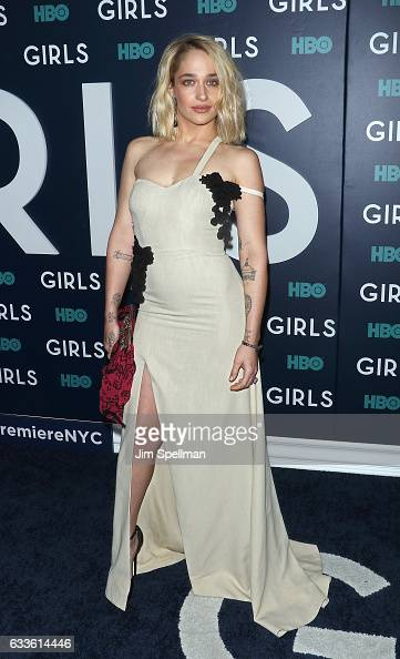 Actress Jemima Kirke attends the the New York premiere of the sixth and final season of 'Girls' at Alice Tully Hall Lincoln Center on February 2 2017...