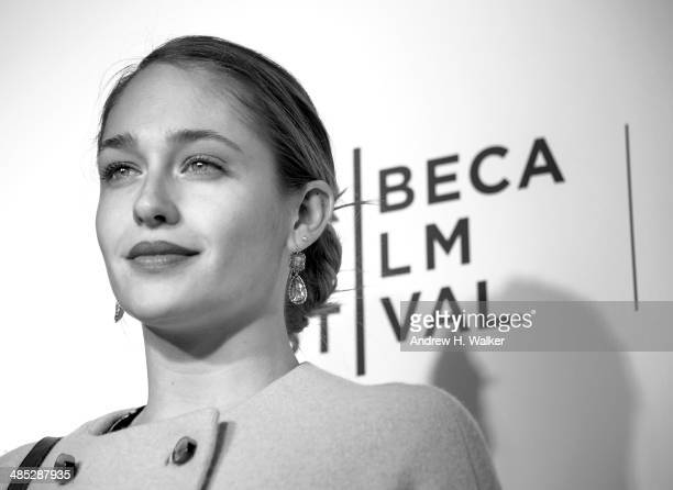 Actress Jemima Kirke attends the 'Time Is Illmatic' Opening Night Premiere during the 2014 Tribeca Film Festival at The Beacon Theatre on April 16...