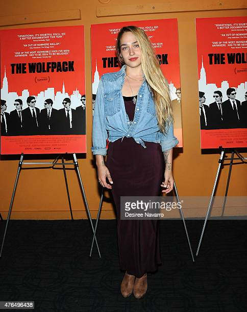 Actress Jemima Kirke attends 'The Wolfpack' New York Premiere at Sunshine Landmark on June 9 2015 in New York City