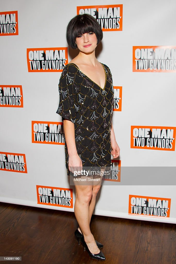 Actress Jemima Rooper attends the 'One Man, Two Guvnors' opening night party at The Liberty Theatre on April 18, 2012 in New York City.