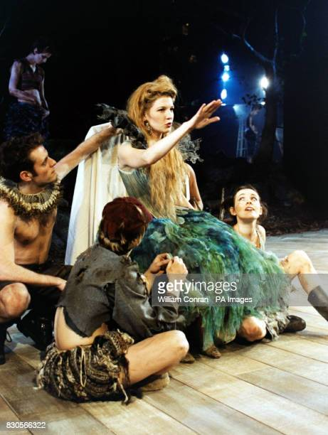 Actress Jemma Redgrave playing Titania in the forthcoming production of A Midsummer Night's Dream at the Albery Theatre London