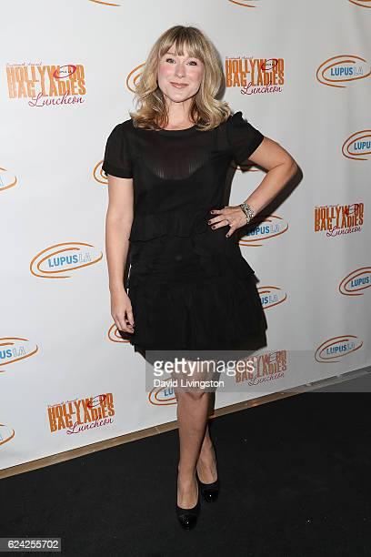 Actress Jen Dede arrives at the 14th Annual Lupus LA Hollywood Bag Ladies Luncheon at The Beverly Hilton Hotel on November 18 2016 in Beverly Hills...