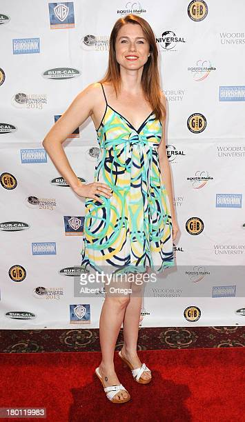 Actress Jen Kuhn arrives for The Burbank Film Festival Closing Night Gala Dinner and Awards Ceremony held at Castaways on September 8 2013 in Burbank...