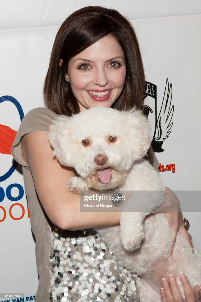 Actress Jen Lilley attends Hooray for Hollywoof! Grand Opening and Launch Party for Zoom Room at Zoom Room on February 16, 2013 in Sherman Oaks, California.