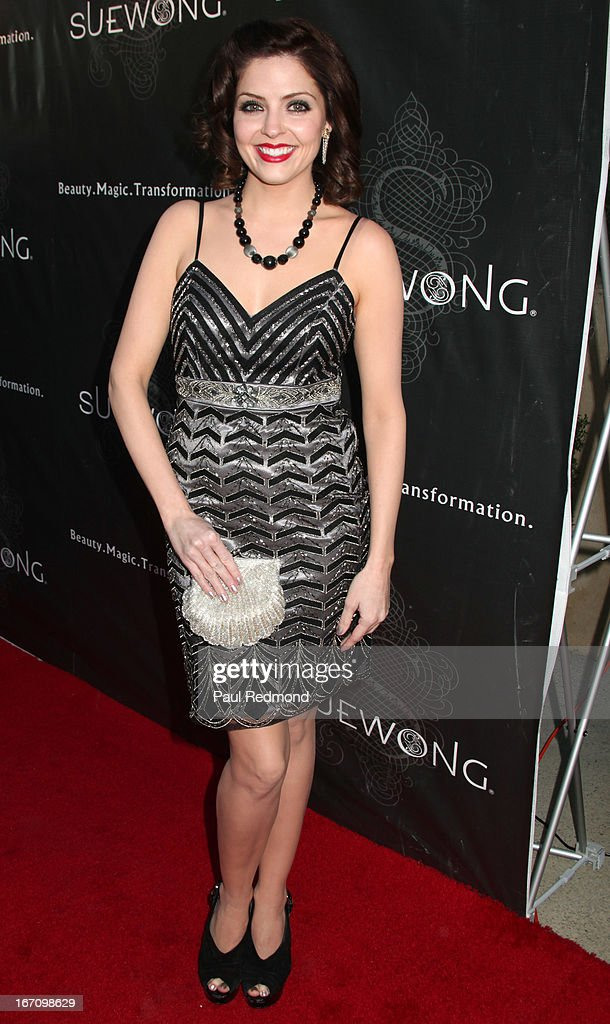 Actress Jen Lilley attends Sue Wong's Great Gatsby Fall 2013 Collection on April 19, 2013 in Los Angeles, California.