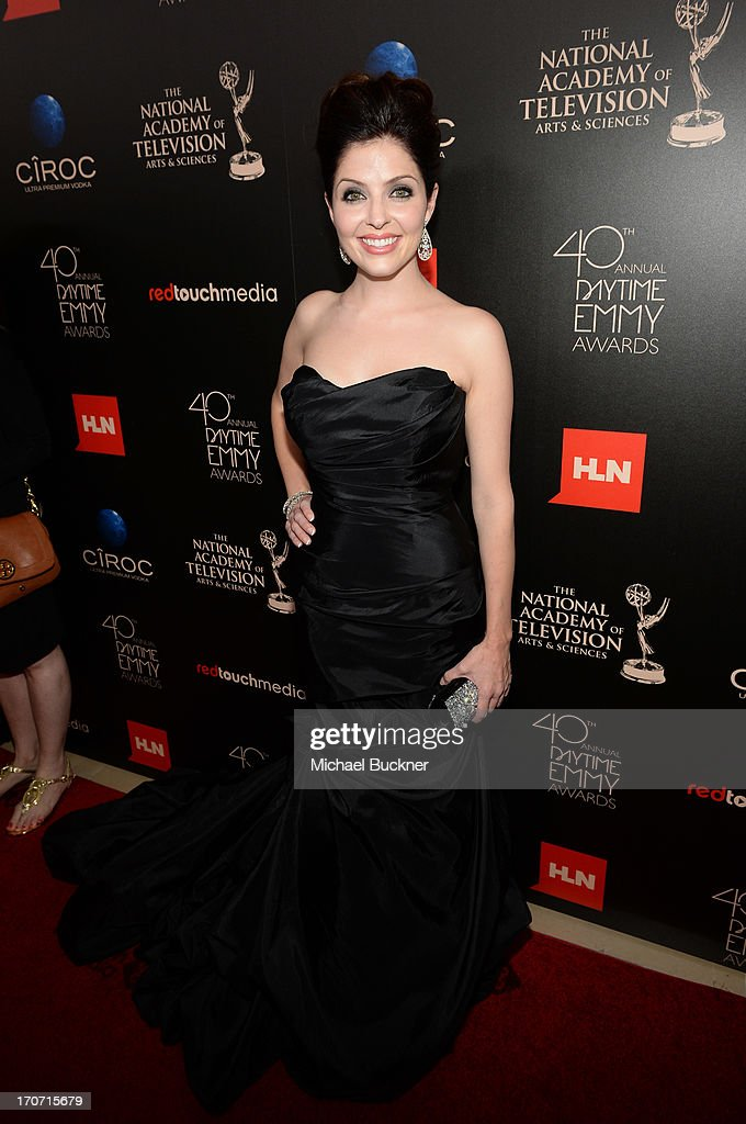 Actress Jen Lilley attends the 40th Annual Daytime Emmy Awards at the Beverly Hilton Hotel on June 16, 2013 in Beverly Hills, California. 23774_001_1030.JPG