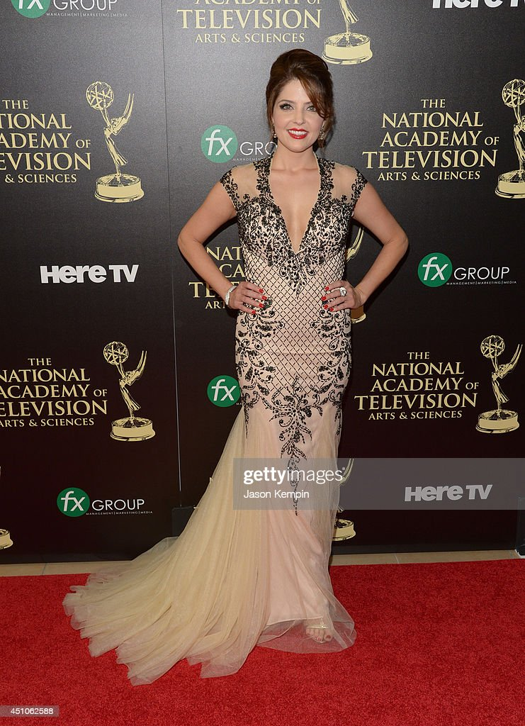 Actress Jen Lilley attends The 41st Annual Daytime Emmy Awards at The Beverly Hilton Hotel on June 22, 2014 in Beverly Hills, California.