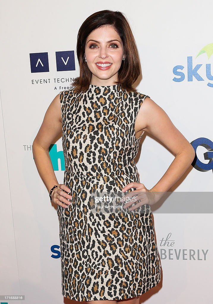 Actress Jen Lilley attends the 4th annual Thirst Gala at The Beverly Hilton Hotel on June 25, 2013 in Beverly Hills, California.