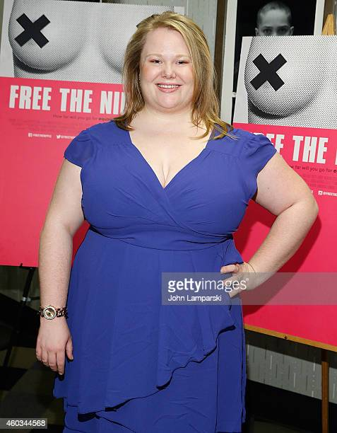 Actress Jen Ponton attends 'Free The Nipple' New York Premiere at IFC Center on December 11 2014 in New York City