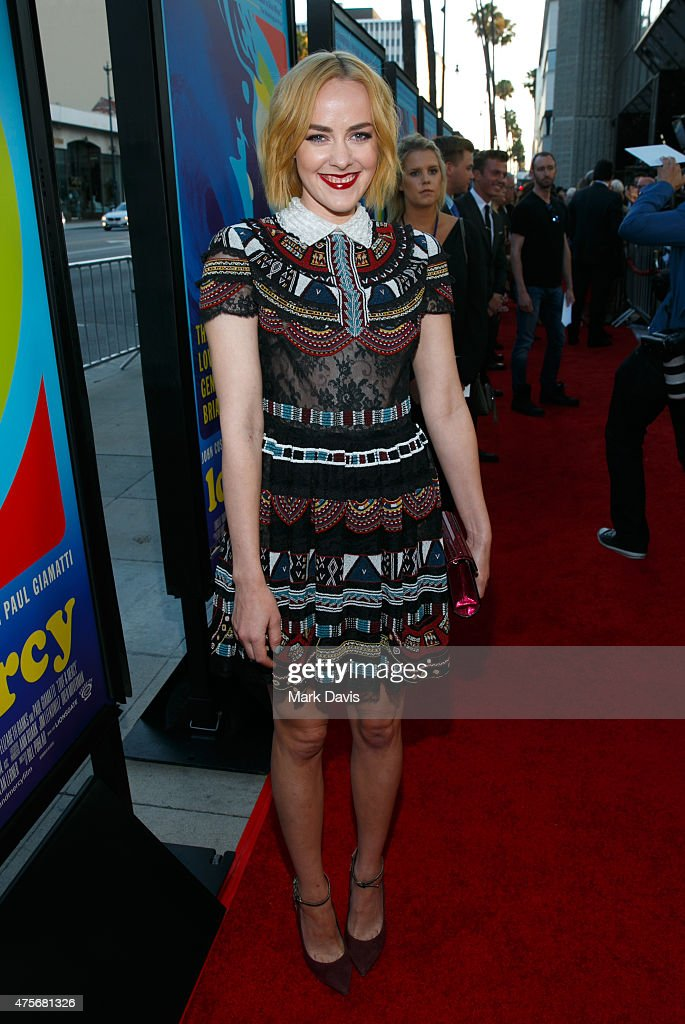 Actress Jena Malone arrives at the premiere of Lionsgate And Roadside Attractions' 'Love Mercy' at AMPAS Samuel Goldwyn Theater on June 2 2015 in...