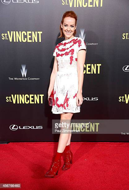 Actress Jena Malone attends the 'St Vincent' New York Premiere at Ziegfeld Theater on October 6 2014 in New York City