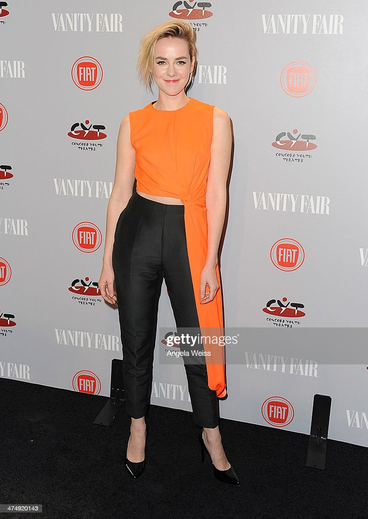 Actress Jena Malone attends the Vanity Fair Campaign Hollywood 'Young Hollywood' party sponsored by Fiat at No Vacancy on February 25 2014 in Los...
