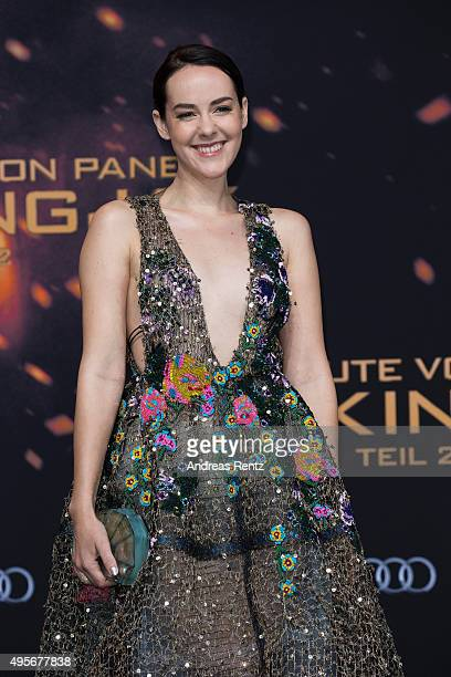 Actress Jena Malone attends the world premiere of the film 'The Hunger Games Mockingjay Part 2' at CineStar on November 4 2015 in Berlin Germany