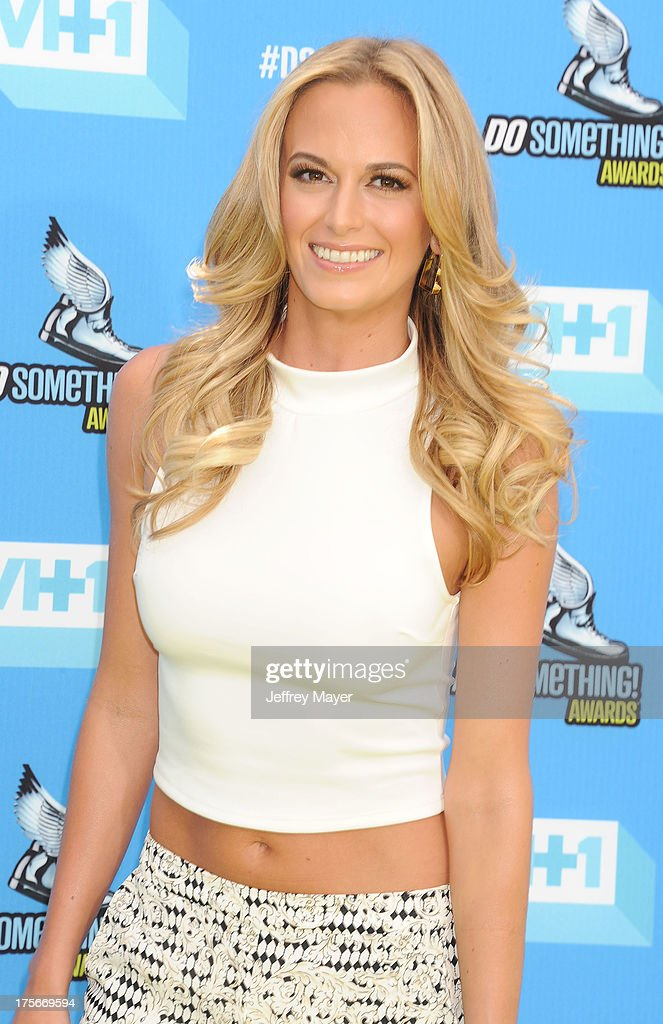 Actress Jena Sims arrives at the DoSomething.org and VH1's 2013 Do Something Awards at Avalon on July 31, 2013 in Hollywood, California.