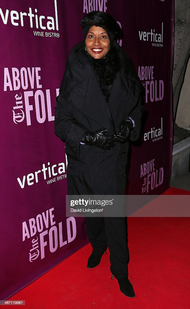 Actress <a gi-track='captionPersonalityLinkClicked' href=/galleries/search?phrase=Jenifer+Lewis&family=editorial&specificpeople=609395 ng-click='$event.stopPropagation()'>Jenifer Lewis</a> attends the opening night performance of 'Above the Fold' at the Pasadena Playhouse on February 5, 2014 in Pasadena, California.