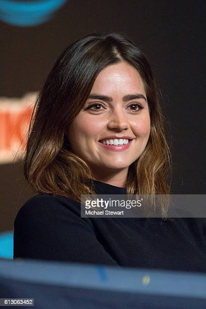 Actress Jenna Coleman attends the 'Tales from the TARDIS' panel during 2016 New York Comic Con on October 6 2016 in New York City