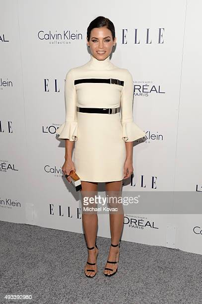 Actress Jenna Dewan attends the 22nd Annual ELLE Women in Hollywood Awards at Four Seasons Hotel Los Angeles at Beverly Hills on October 19 2015 in...