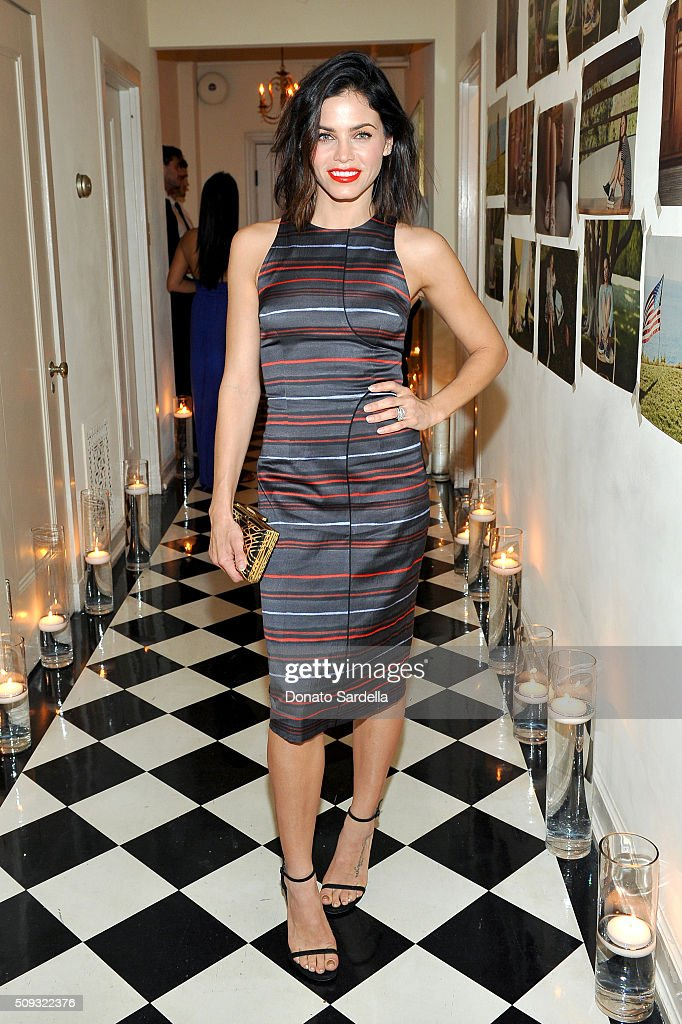 Actress Jenna Dewan attends the Superga XO Jennifer Meyer Collection Launch Celebration at Chateau Marmont on February 9, 2016 in Los Angeles, California.