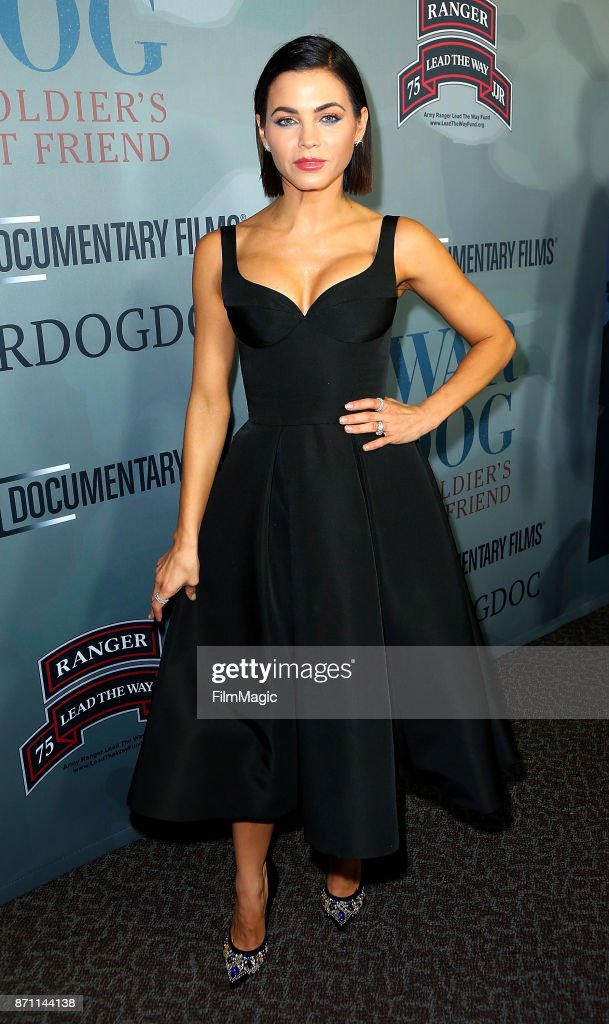 Actress Jenna Dewan Tatum arrives at HBO 'War Dog: A Soldier's Best Friend' premiere at DGA Theater on November 6, 2017 in Los Angeles, California.