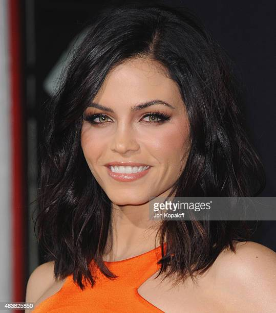 Actress Jenna Dewan Tatum arrives at the Los Angeles Premiere 'Jupiter Ascending' at TCL Chinese Theatre on February 2 2015 in Hollywood California