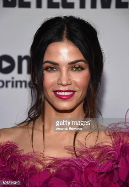 Actress Jenna Dewan Tatum arrives at the premiere of Amazon's 'Comrade Detective' at the ArcLight Hollywood on August 3 2017 in Hollywood California