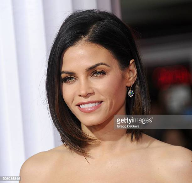 Actress Jenna Dewan Tatum arrives at the premiere of Universal Pictures' 'Hail Caesar' at Regency Village Theatre on February 1 2016 in Westwood...