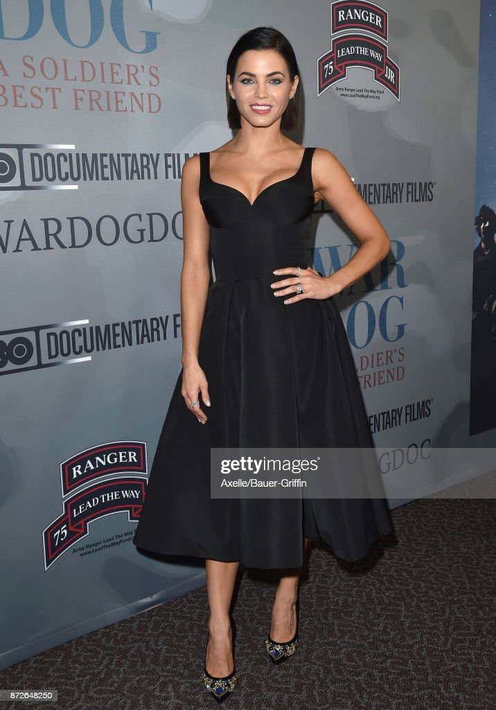 Actress Jenna Dewan Tatum arrives at the premiere of 'War Dog: A Soldier's Best Friend' at Directors Guild of America on November 6, 2017 in Los Angeles, California.