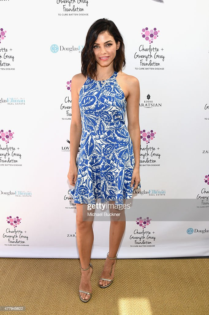 Actress Jenna Dewan Tatum attended a tea party to support the Charlotte Gwenyth Gray Foundation to cure Batten Disease on Saturday June 20th in...