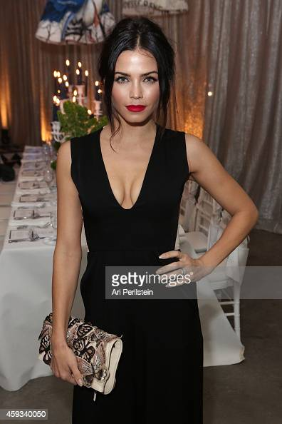 Actress Jenna Dewan Tatum attends alice olivia By Stacey Bendet Celebrates Melrose Avenue Store Opening on November 20 2014 in Hollywood California