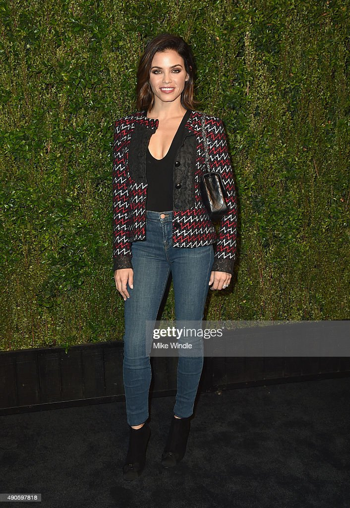 Actress Jenna Dewan Tatum attends CHANEL Dinner in Honor of Baby2Baby at CHANEL Boutique on September 29, 2015 in Los Angeles, California.