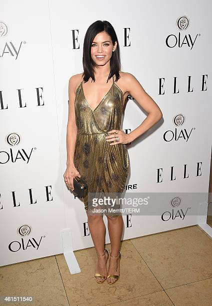 Actress Jenna Dewan Tatum attends ELLE's Annual Women in Television Celebration on January 13 2015 at Sunset Tower in West Hollywood California...