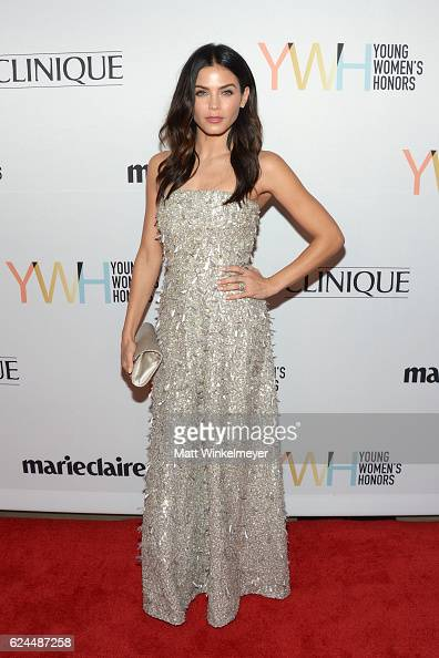 Actress Jenna Dewan Tatum attends the 1st annual Marie Claire Young Women's Honors at Marina del Rey Marriott on November 19 2016 in Marina del Rey...