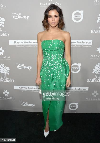 Actress Jenna Dewan Tatum attends the 2015 Baby2Baby Gala presented by MarulaOil Kayne Capital Advisors Foundation honoring Kerry Washington at 3LABS...