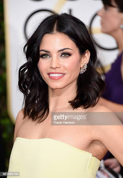 Actress Jenna Dewan Tatum attends the 72nd Annual Golden Globe Awards at The Beverly Hilton Hotel on January 11 2015 in Beverly Hills California