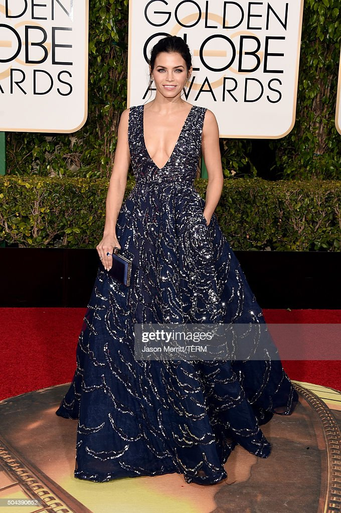 Actress Jenna Dewan Tatum attends the 73rd Annual Golden Globe Awards held at the Beverly Hilton Hotel on January 10, 2016 in Beverly Hills, California.