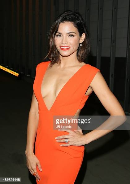Actress Jenna Dewan Tatum attends the Buick '24 Hours of Happiness' test drive launch event at Ace Museum on July 22 2015 in Los Angeles California