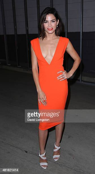 Actress Jenna Dewan Tatum attends the Buick Introduces 24 Hours of Happiness Test Drive event at Ace Museum on July 22 2015 in Los Angeles California