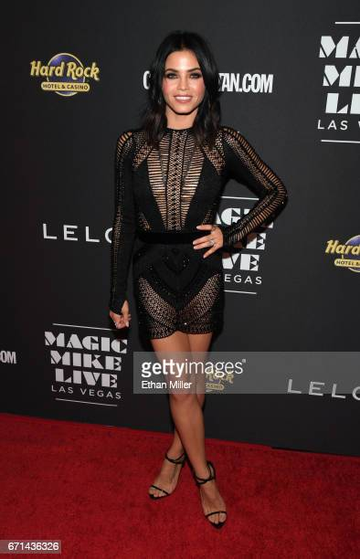 Actress Jenna Dewan Tatum attends the grand opening of 'Magic Mike Live Las Vegas' at the Hard Rock Hotel Casino on April 21 2017 in Las Vegas Nevada
