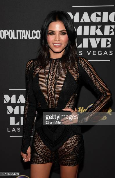 Actress Jenna Dewan Tatum attends the grand opening of 'Magic Mike Live Las Vegas' at the Hard Rock Hotel Casino on April 21 2017 in Las Vegas Nevada