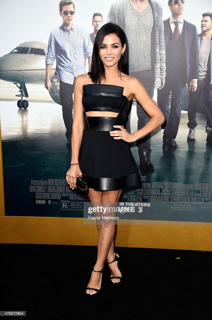 Actress Jenna Dewan Tatum attends the premiere of Warner Bros Pictures' 'Entourage' at Regency Village Theatre on June 1 2015 in Westwood California